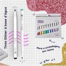 Brush Glitter ( 12 unidades)  - New Pen