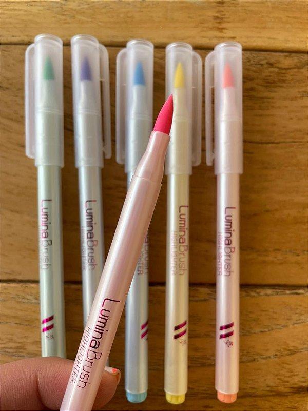 Brush Lumina Neon ( 6 cores )  - New Pen