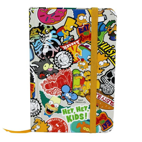 Caderno de Anotações Simpsons Pop