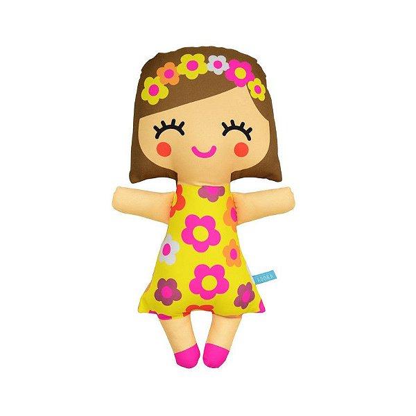 Boneca Floridinha Amarelo M