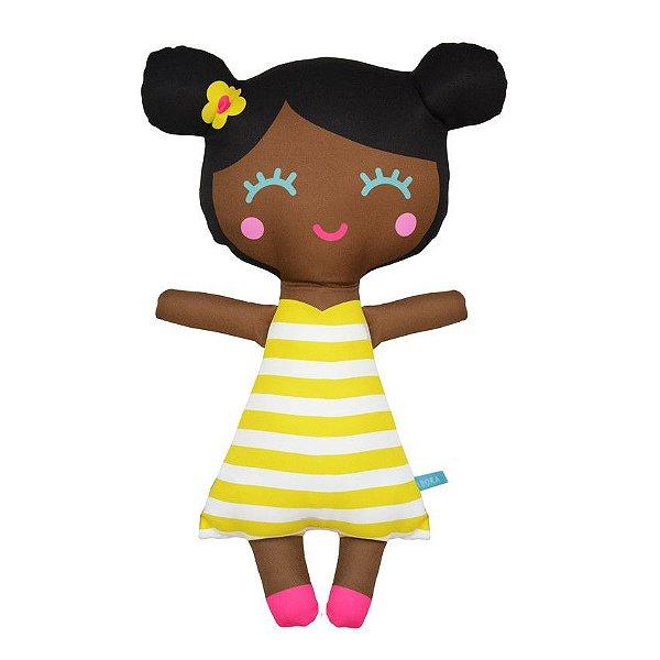 Boneca Negrinha- Listrada Tam G