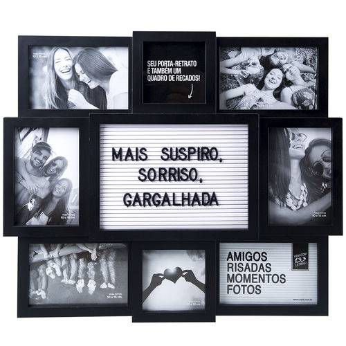 Mural letreiro 8 fotos - Palavras Amor