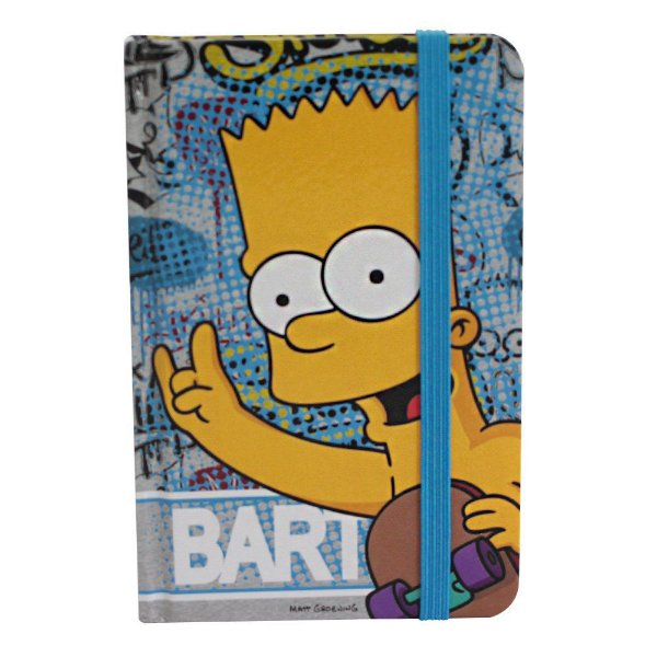 Caderno de Anotações Bart  Simpsons Pelado