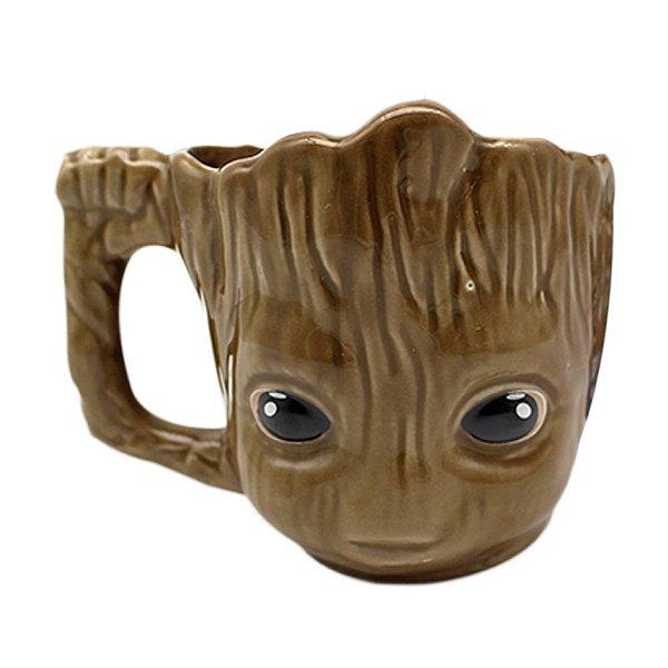 Caneca Formato 3D 350 ml - Baby Groot