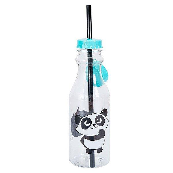 Mini Garrafa Canudo - Panda