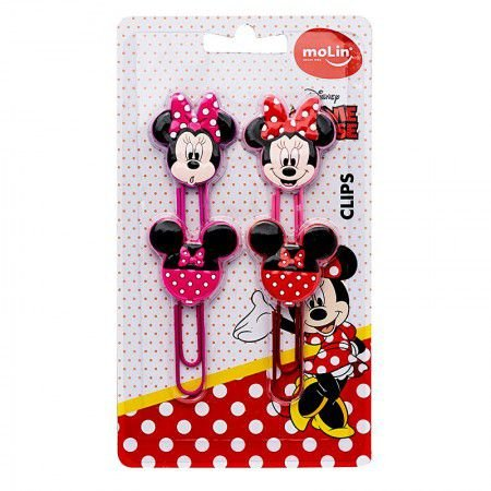 Clips Minnie 50 MM - Kit Com 4