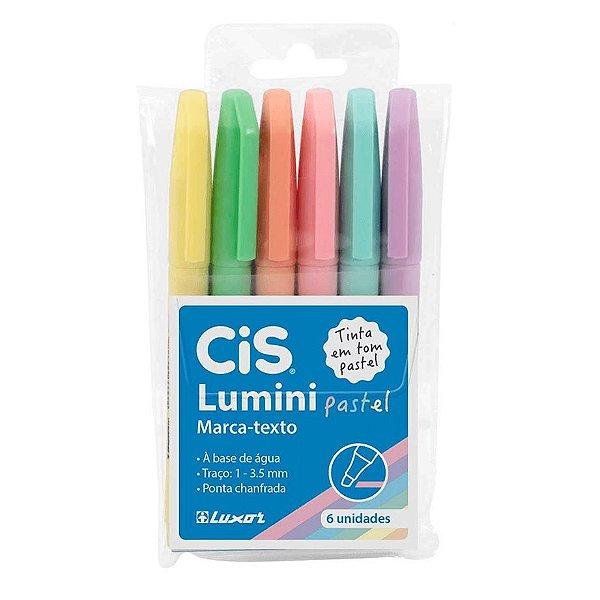 Kit Marca texto Cis Lumini - Tom Pastel ( 6 Cores)