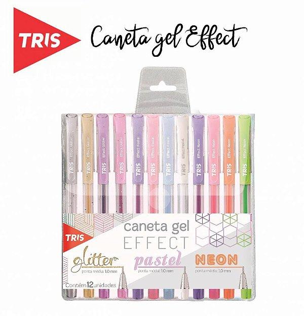 Caneta Gel - Tris Effect
