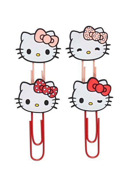Clips Hello Kitty  - Molin