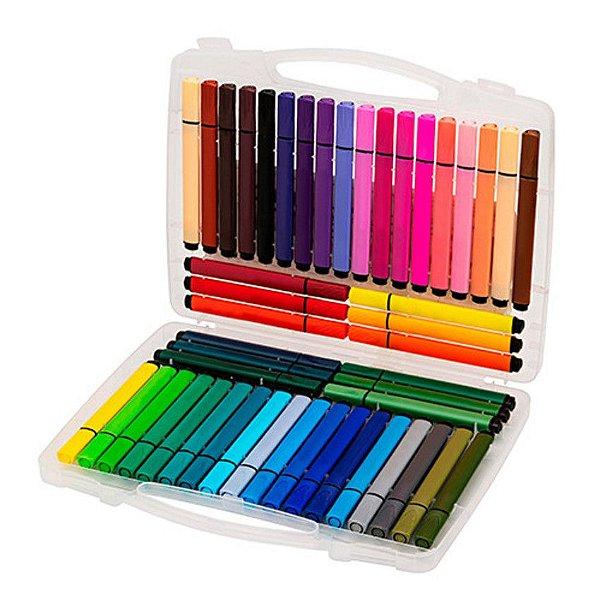 Maleta Hidrocor 48 cores - Molin