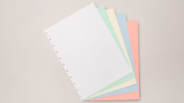 Refil Colorido (Grande) - Caderno Inteligente