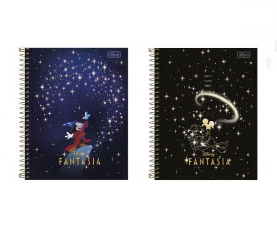 Caderno Colegial Mickey - Tilibra