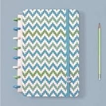 Caderno Waves  Medio - Caderno Inteligente