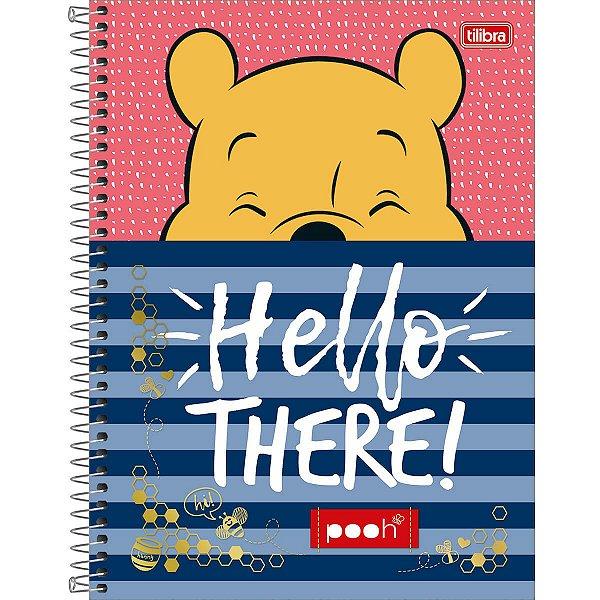 Caderno Universitário Pooh - Tilibra