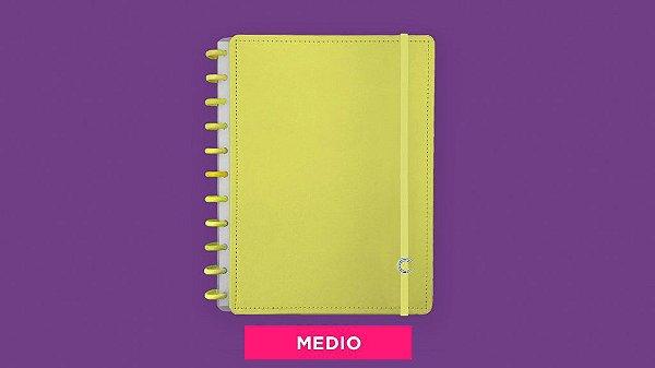Caderno All Yellow - Medio
