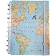 Caderno By Gocase Mapa Mundi (Grande) - Caderno Inteligente