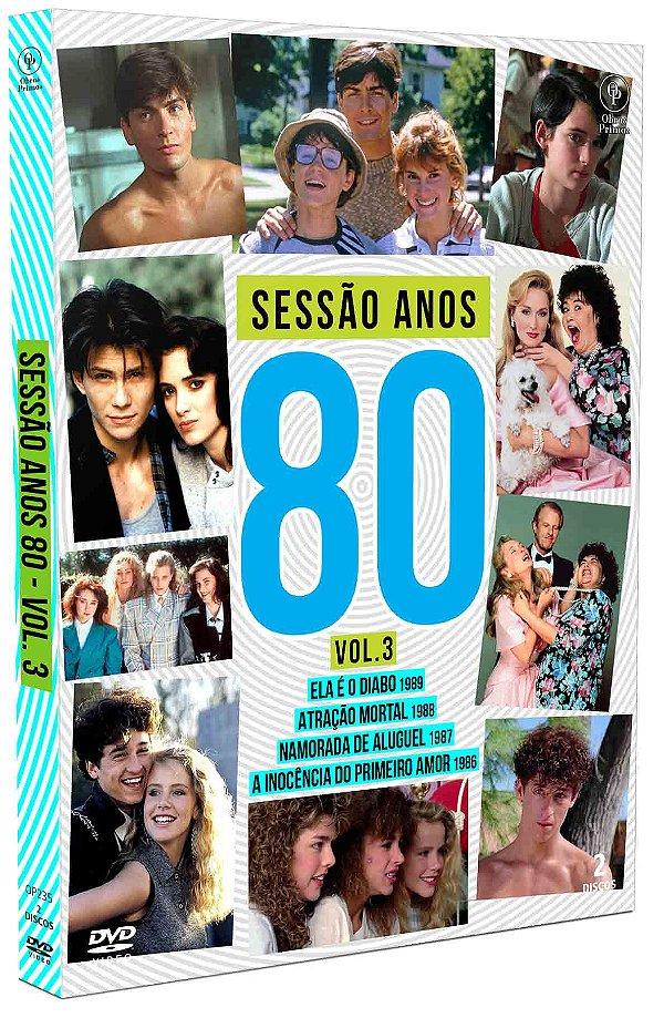 SESSÃO ANOS 80 - VOLUME 03 - DIGIPAK COM 2 DVD'S