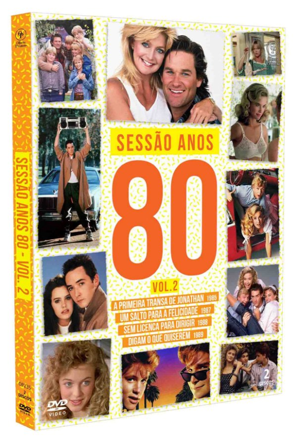 SESSÃO ANOS 80 - VOLUME 02 - DIGIPAK COM 2 DVD'S