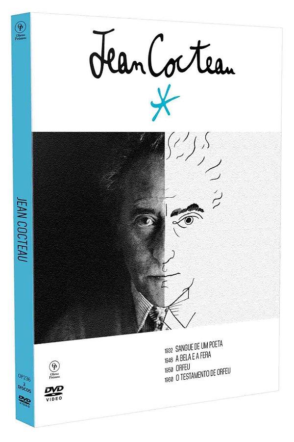 JEAN COCTEAU - DIGIPAK COM 2 DVD'S