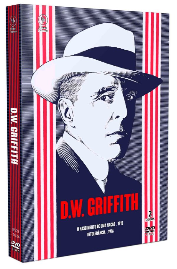 D.W. GRIFFITH (LUVA COM 2 DVD'S)