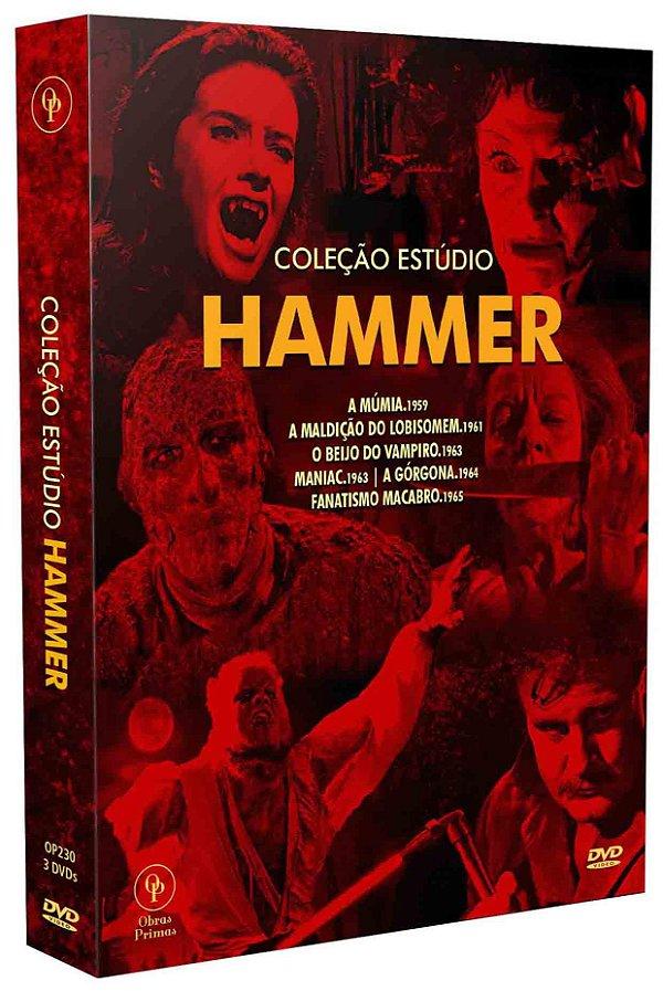COLEÇÃO ESTÚDIO HAMMER (DIGISTAK COM 3 DVD'S)