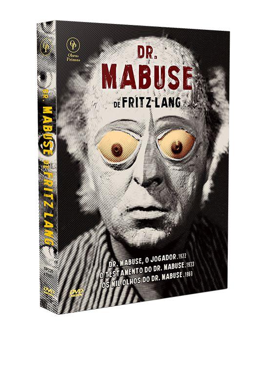 DR. MABUSE DE FRITZ LANG - DIGISTAK COM 4 DVD'S
