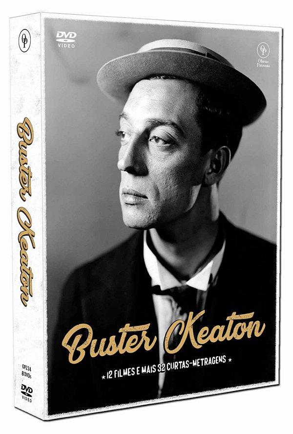 BUSTER KEATON - EDIÇÃO ESPECIAL (DIGIPAK COM 8 DVD'S)