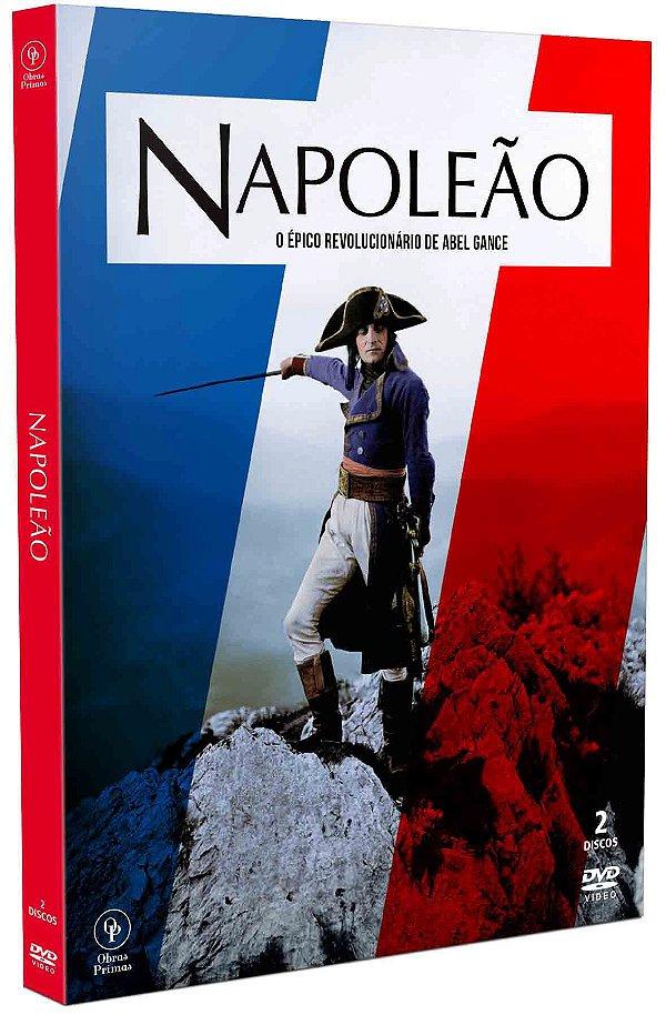 NAPOLEÃO - DIGIPACK COM 2 DVD'S