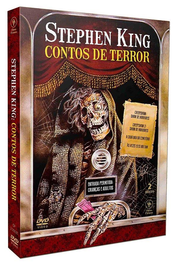 STEPHEN KING: CONTOS DE TERROR (2 DISCOS)