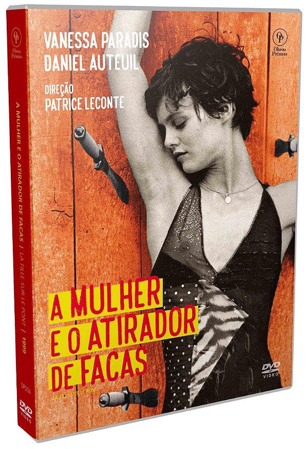 DVD – A MULHER E O ATIRADOR DE FACAS