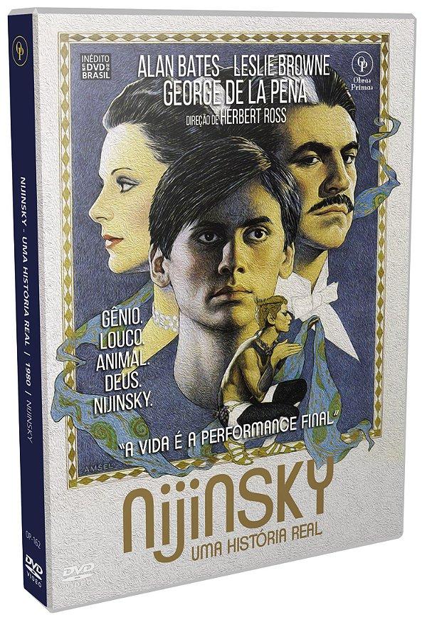DVD - NIJINSKY – UM HISTÓRIA REAL