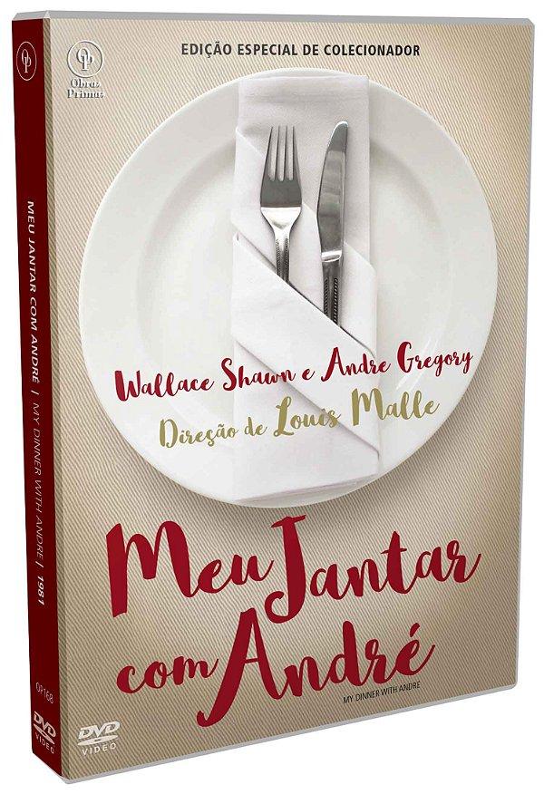 DVD -  MEU JANTAR COM ANDRÉ – EDIÇÃO ESPECIAL DE COLECIONADOR