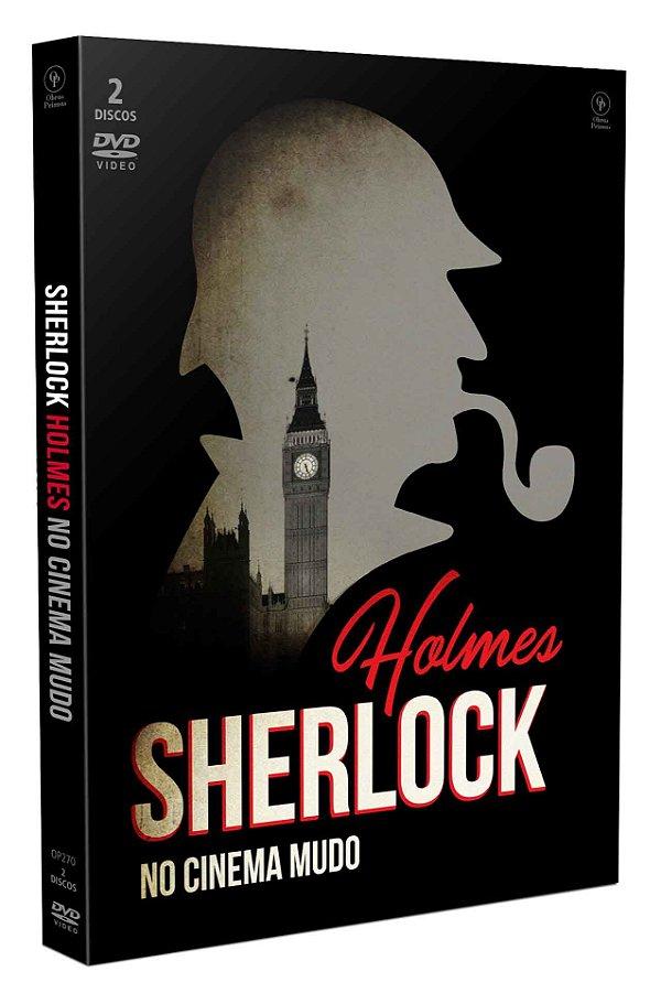 SHERLOCK HOLMES NO CINEMA MUDO - DIGIPAK COM 2 DVD'S