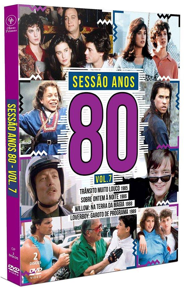 SESSÃO ANOS 80 VOLUME 07 -  2 DISCOS