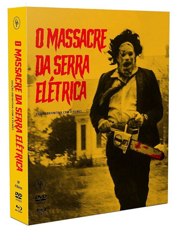 O MASSACRE DA SERRA ELÉTRICA - COLEÇÃO DEFINITIVA 2 BDs + 2DVDS