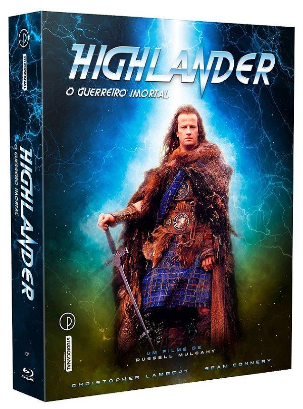 HIGHLANDER: O GUERREIRO IMORTAL - EDIÇÃO ESPECIAL DE COLECIONADOR [BLU-RAY + DVD]