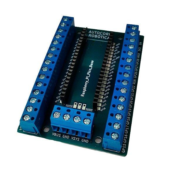 Placa de Expansão Borne para Raspberry Pi Pico