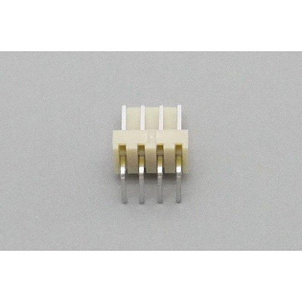 Conector JS-7001-04 - 2,54MM - 90G