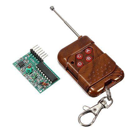 Kit Controle Remoto + Receptor RF 315Mhz