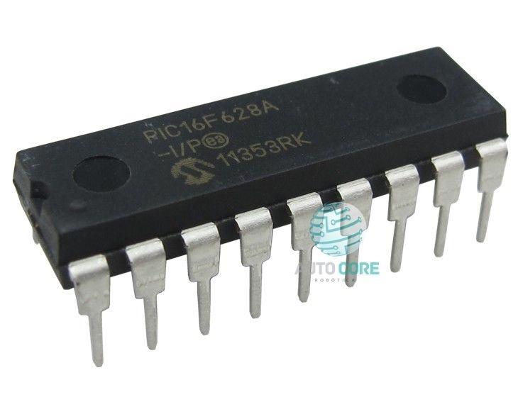 Microcontrolador PIC 16F628-04-I/P