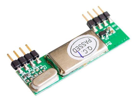 Módulo Receptor Super Heteródino 433Mhz RXB6