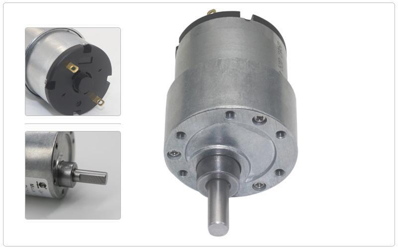 Micro Motor DC com Redução 4.5V 102RPM