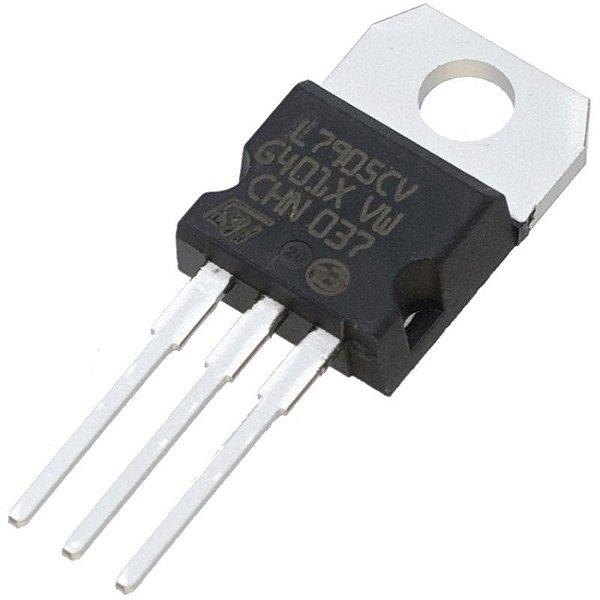 7905 - CI Regulador de Tensão Negativo 5V 1A