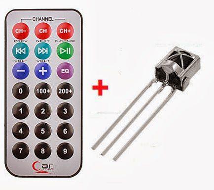 Kit Infravermelho - Controle Remoto + Receptor IR