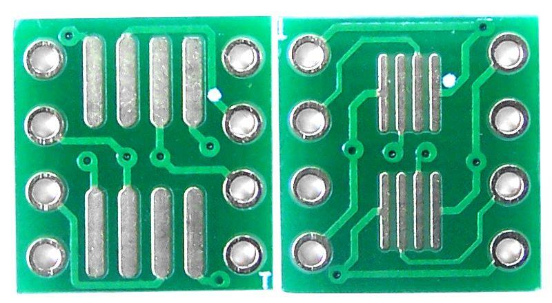 Adaptador SOP8/SSOP8/TSSOP8 SMD para DIP-8