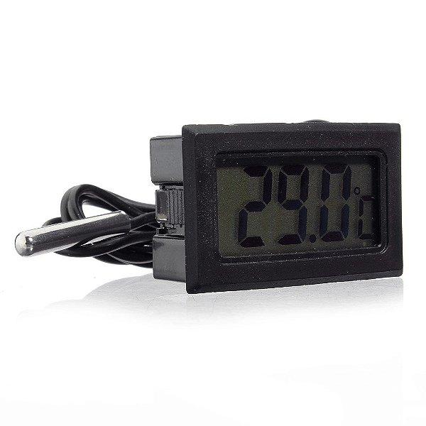 Termômetro Digital com Sensor de Temperatura Externo