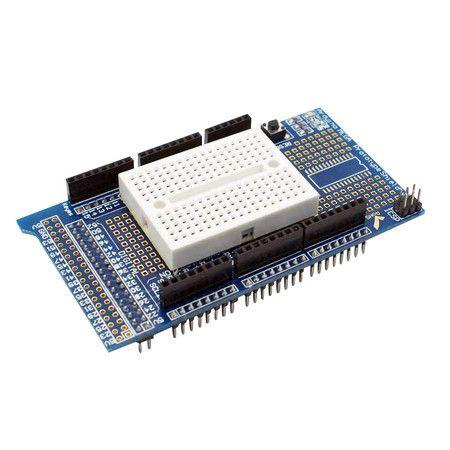 Mega Protoshield para Arduino com Mini Protoboard