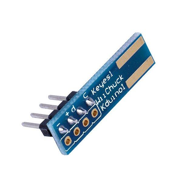 Adaptador Nunchuck Wiichuck para Arduino