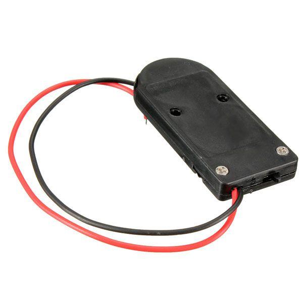 Suporte Duplo Bateria CR2032 com Chave