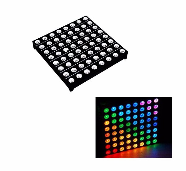 Matriz de Led RGB 8x8 5mm